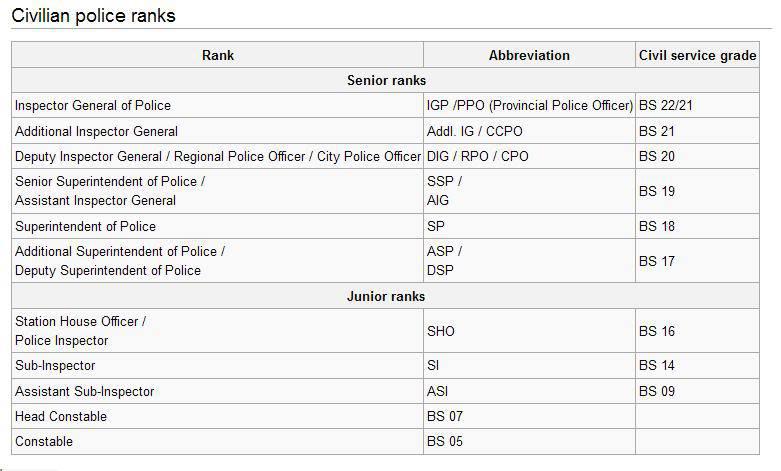 Polizei Usa Dienstgrade